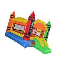 Cloud 9 Mini Crayon Bounce House - Inflatable Bouncing