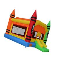 Cloud 9 The Crayon Bounce House - Large Inflatable Bouncing