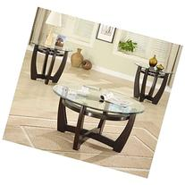 Coaster Home Furnishings 700295 Contemporary 3-Piece Table