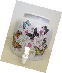 Contemporary Design Ceramic Water Dispenser- Butterflies