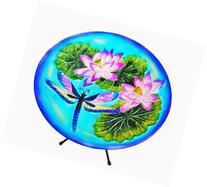 Continental Art Center CAC40186 15-Inch Dragonfly Glass Bird