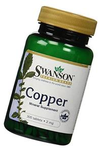 Swanson Copper Antioxidant Immune System Red Blood Cell