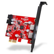 Inateck 2-Port PCI-E USB 3.0 Express Card, Mini PCI-E USB 3