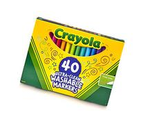 Crayola; Ultra-Clean Fine Line Markers; Art Tools; 40