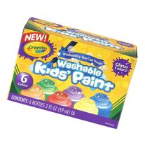 Crayola Washable Glitter Paint Great for Classroom Projects