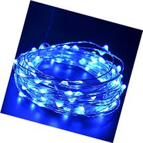 CrazyFire 33ft/10m Christmas LED String Light,100 LEDs Blue