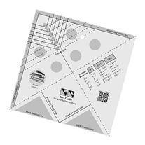Creative Grids Cat's Cradle TooL Quilt Rulers Template