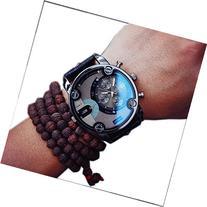 Creazy® New Fashion Mens England Big Dial Style Wrist Watch