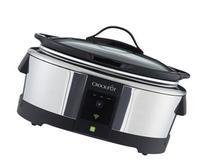 Crock-pot - 6-quart Wemo Enabled Smart Slow Cooker - Silver