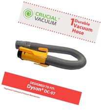 Crucial Vacuum Dyson DC07 All Floors Hose Silver/Yellow No.