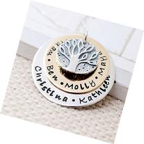 Customized Gold Filled and Sterling Silver Family Tree