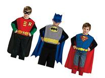 DC Comics Boys Action Trio Superhero Costume Set