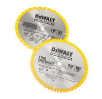 DEWALT DW3106P5 60-Tooth Crosscutting and 32-Tooth General
