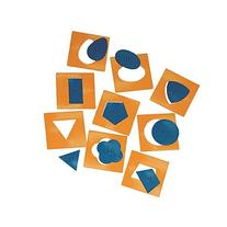 Didax Educational Resources Montessori Shapes Set