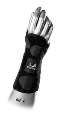 DP3 BioSkin 8-inch Wrist Brace  Right - Hypoallergenic