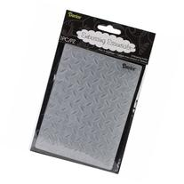 Darice EB12-101 Embossing Folder 4.25X5.75-Diamond Plate
