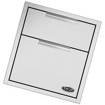 DCS TDD1-20 Double Tower Drawer, 20-Inch
