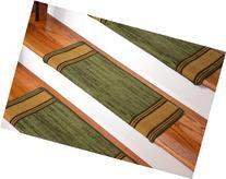 Dean Modern DIY Bullnose Wraparound Non-Skid Carpet Stair