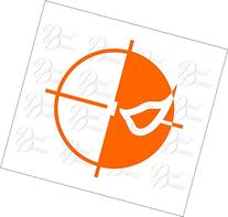 Deathstroke emblem Vinyl Car Decal, DC Comics, Green Arrow,