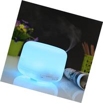 Deckey 500ml 7 Colors Changing Ultrasonic Humidifier Aroma