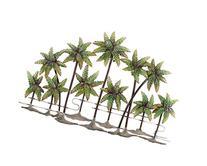 Deco 79 Metal Palm Wall Decor, 38 by 25