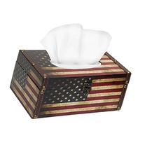 MyGift Decorative Vintage Patriotic American Flag Design