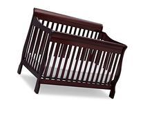 Delta Children Canton 4-in-1 Convertible Baby Crib, Espresso