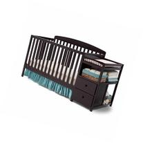 Delta Children's Royal Fixed-Side Crib 'n Changer, Choose