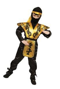 Deluxe Ninja Costume Set - Large 12-14