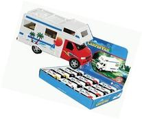 Die-cast Camper Van with Beach Scene, 1-pc