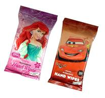 Disney Antibacterial Hand Wipes Featuring Cars and Disney