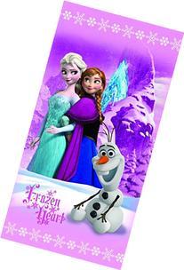 Disney Beach Towel Frozen Anna & Elsa Frozen Heart Bath