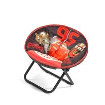 Disney Cars Mini Saucer Children's Folding 81 Lb Chair Fun