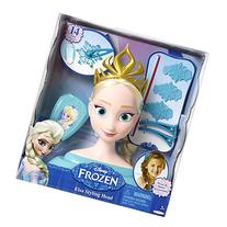 Frozen Disney Elsa Styling Head Playset