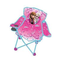 Disney Frozen Fold N Go Kids Chair w/ Cupholder and Carry
