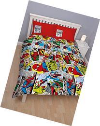 Marvel Comics Reversible Double Duvet