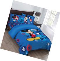 Disney Mickey Oh Boy! Gosh Licensed Full Comforter Set w/