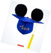 Disney Parks 2016 Graduation Graduate Mickey Mouse Ears Hat