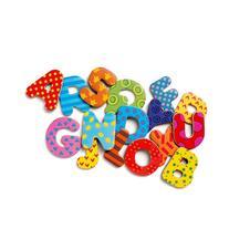 Djeco Wooden Magnet, Alphabet Letters