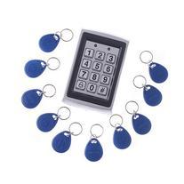 ® RFID Entry Metal Door Lock Access Control System + 10 Key