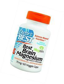 Doctor's Best - Best Brain Magnesium 75 mg - 60 ct