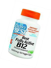 Doctor's Best - Best Fully Active B12 1500 mcg. - 60