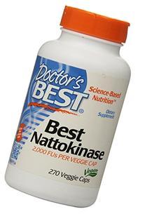 Doctor's Best - Best Nattokinase 2000 FU - 270 Vegetarian