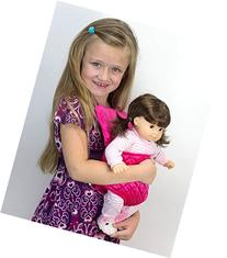 Doll Carrier for 15 Inch Baby or 18 Inch Dolls by Sophia's,