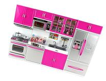 Doll Playsets My Modern Kitchen 32 Full Deluxe Kit with