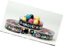 Dowling Magnets Do-736607 20 Split Colored Magnet Marbles