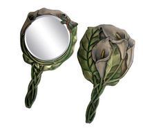 Dragonfly Beauty Accessory Calla Lily Hand Mirror