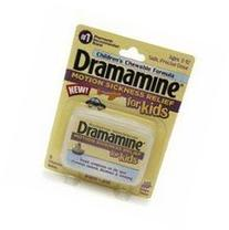 Dramamine for Kids Chewable Tablets Grape Flavor 8 Tablets