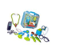 Durable Kids Doctor Kit with Electronic Stethoscope and 12