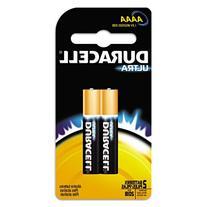 Duracell - Ultra Photo AAAA Battery, 2/CT MX2500B2PK (DMi PK